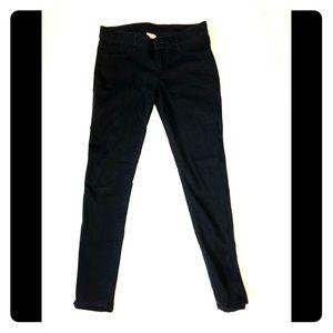 Velvet like dark Blue Jeans